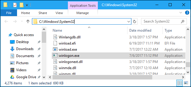 winlogon.exe Windows-aanmeldingstoepassing